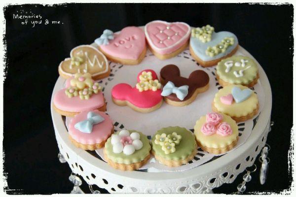 七夕恋上你 爱心翻糖饼干